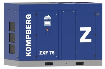 Oil free Screw Compressor - KOMPBERG ZXF 75